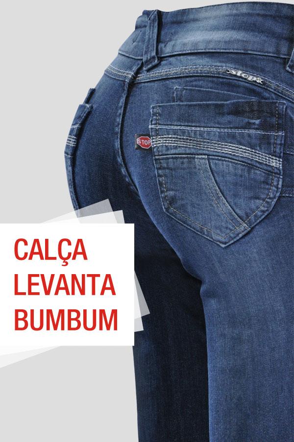 Calça Levanta Bumbum Stop Jeans